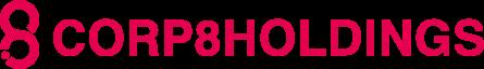 株式会社CORP8HOLDINGS。製造、販売等を行う子会社等の経営管理およびそれに付帯または関連する事業。